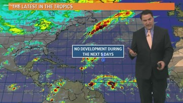 No tropical development expected during the next 5 days