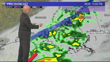 A few showers possible for morning commute