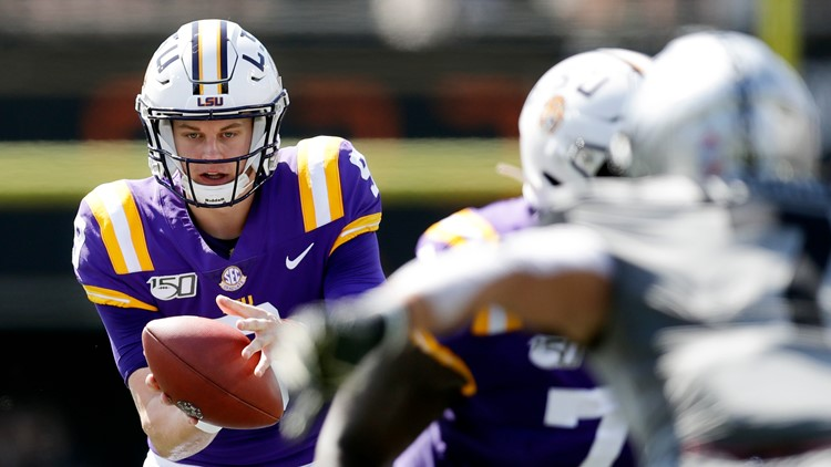 School-record 6 TDs for Burrow, No. 4 LSU routs Vandy 66-38