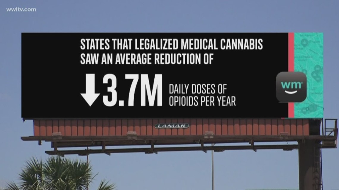 Cherry-picking or educating? Billboards advertise benefits of weed