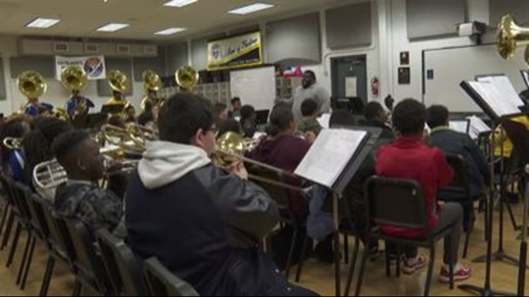 Good Work: JP's 'Band of Excellence' works to keep members out of trouble