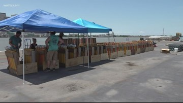 Despite high river, barge crew say New Orleans is ready for fireworks show