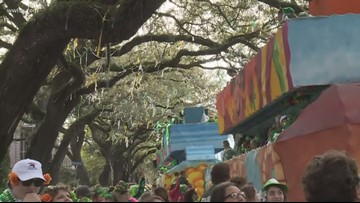 New Orleans St. Patrick parade delights crowds
