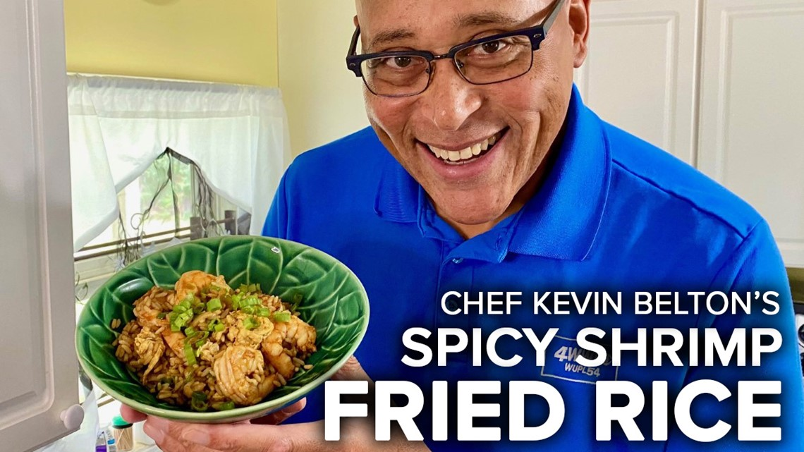 Recipe: Chef Kevin Belton's Spicy Shrimp Fried Rice
