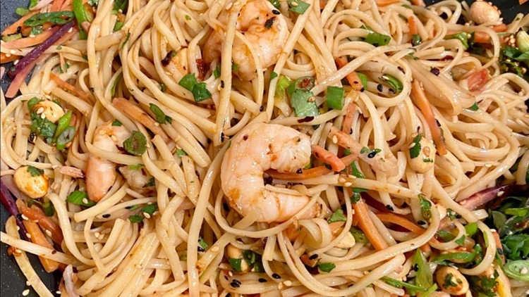 Recipe: Kev's Kicked Up Thai Noodles