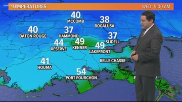 Pinpoint Forecast: Plenty of Sun and Cool Wednesday