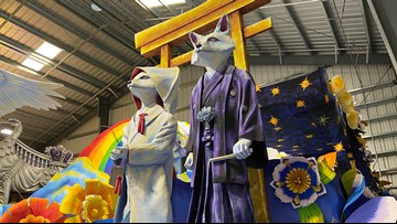 """Preview this year's Rex parade: """"Omens and Auguries"""""""