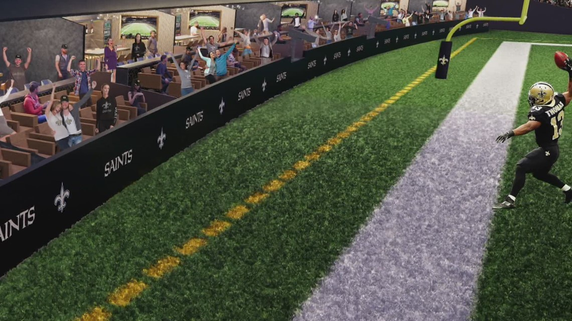 Superdome adding field level suites for upcoming season