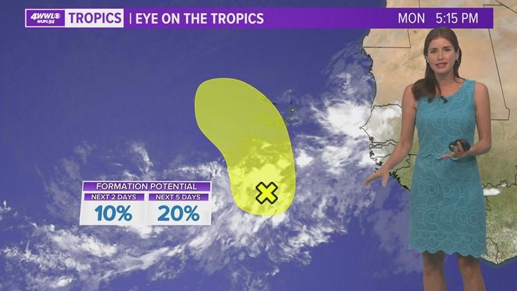 Monday night tropical update: Watching lone spot near Africa