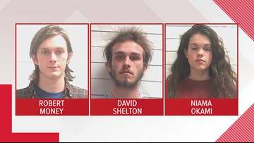 Three arrested in connection with Tulane dorm fire that group claims was politically motivated