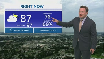 Weather Expert Forecast: Thursday Evening