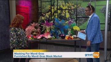 Mardi Gras mask market is now open!