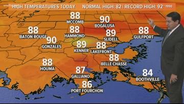 New Orleans Weather: Warmer temperatures return Wednesday