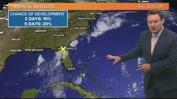 Tropical Update: Saturday Morning