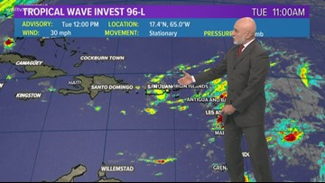 Tropical Update 5pm Tuesday