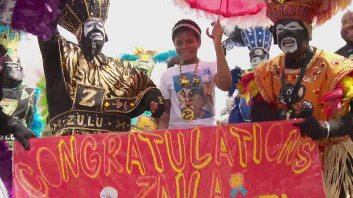 Celebration held for Scripps Spelling Bee champion Zaila Avant-garde