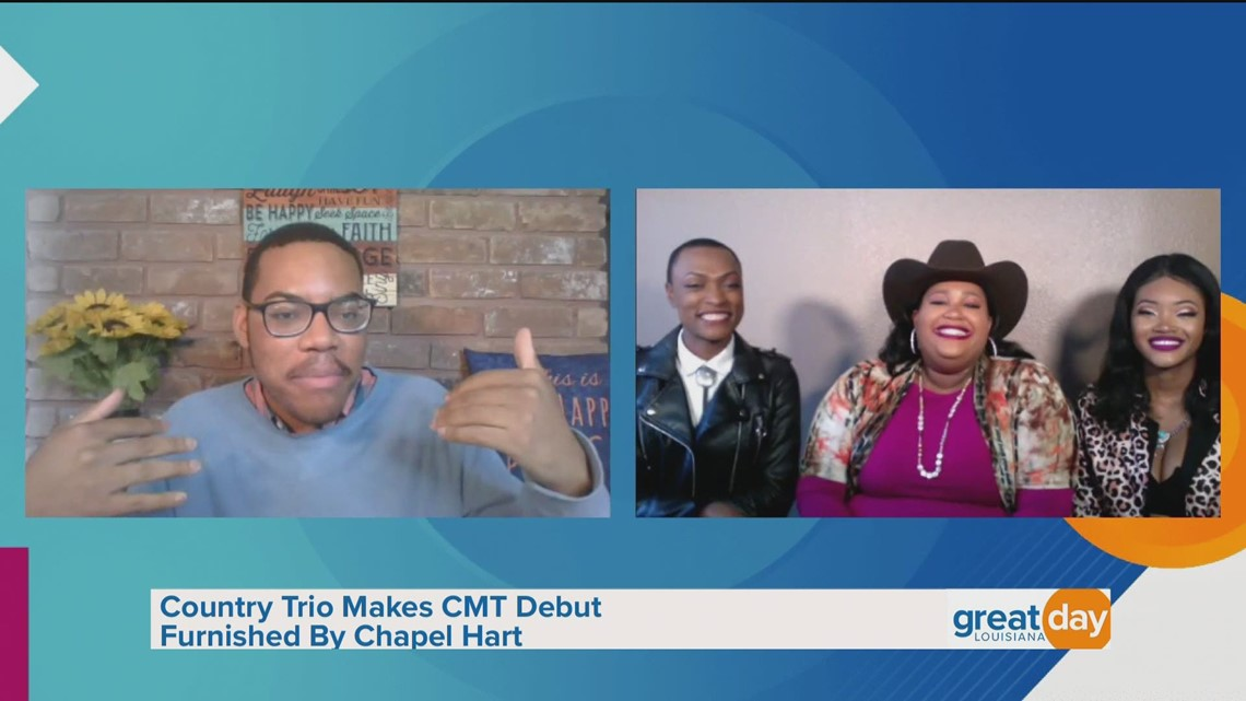Chapel Hart Performs 'You Can Have Him Jolene' in the Chip Forstall Virtual Sound Stage