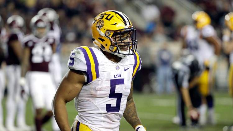 Domestic violence charges dropped against former NFL, LSU running back Guice