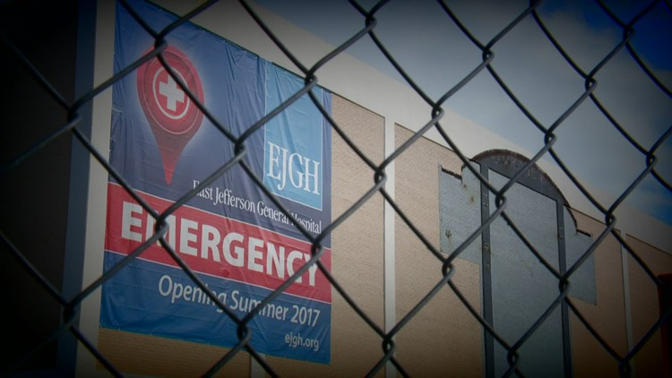 Costly, empty Jefferson Parish hospital building to get makeover