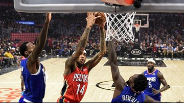 Clippers defeat Pelicans 134-109