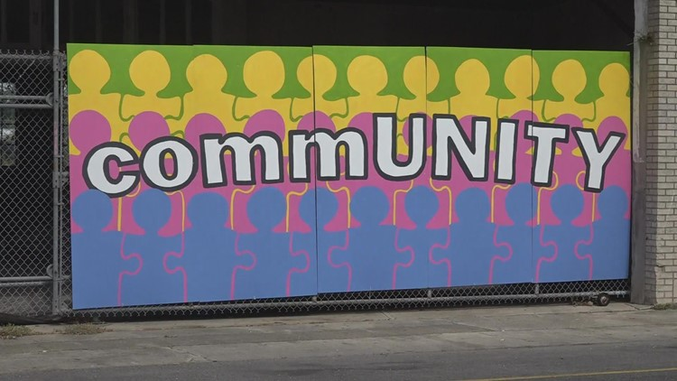 New mural highlights the unity in Houma's post-ida community