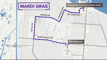 Krewe of Isis, oldest JP parade krewe, moving to Kenner route