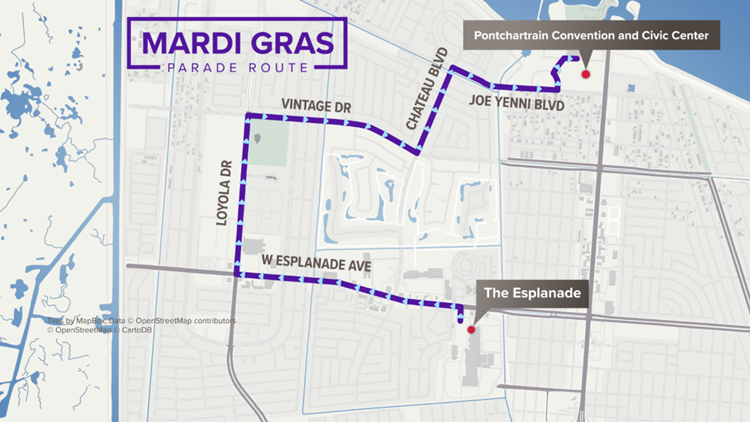 krewe of isis new route kenner 2020 mardi gras