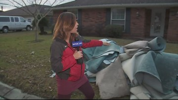 Dozens of homes flood in St. Charles Parish after heavy rainfall