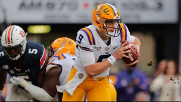 LSU lands No. 2 in first College Football Playoff rankings