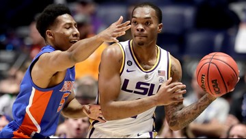 Florida hits 3 with second left to upset No. 9 LSU 76-73