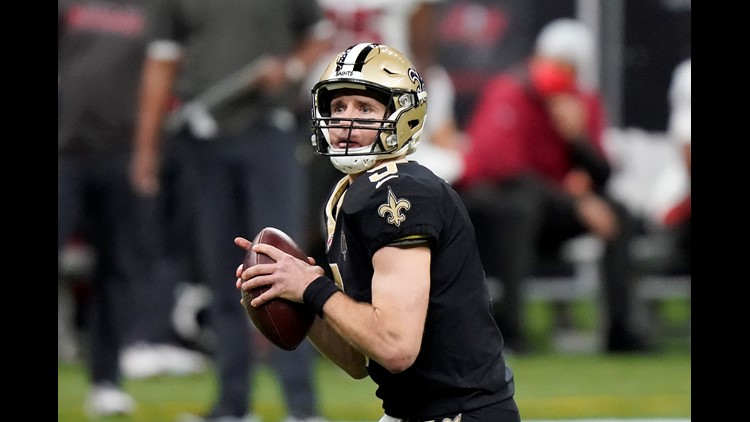 Brees renegotiates to help Saints with cap if he retires