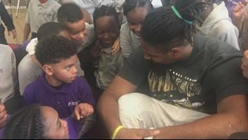 Neighborhood Hero: Cam Jordan gives back to local kids every week