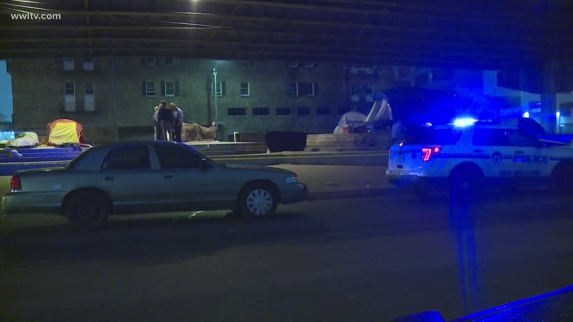Man found shot multiple times under I-10 overpass, police say