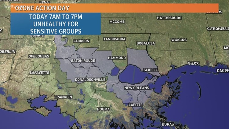 Air Quality Alert Issued For Seven Southeast Louisiana Parishes