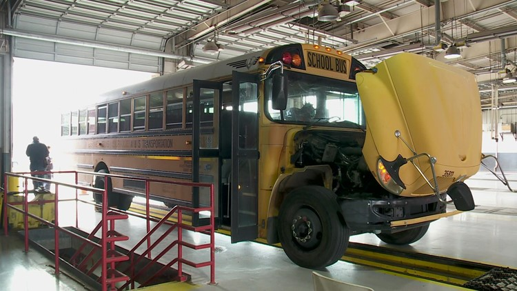 Five of every six New Orleans school buses lack permits a week before school starts