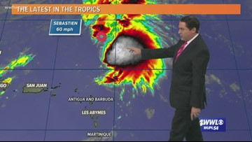 Hurricane Sebastien expected to form Thursday