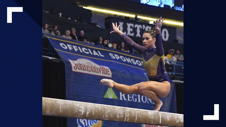 LSU gymnastics headed for national championship
