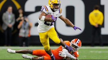 Relentless LSU offense wears out Clemson in National Championship