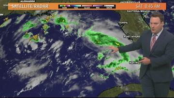 Eye on the Tropics: TS Humberto and disturbance in the Gulf