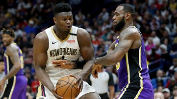 Another battle, another loss against No. 1 Lakers for the Pelicans