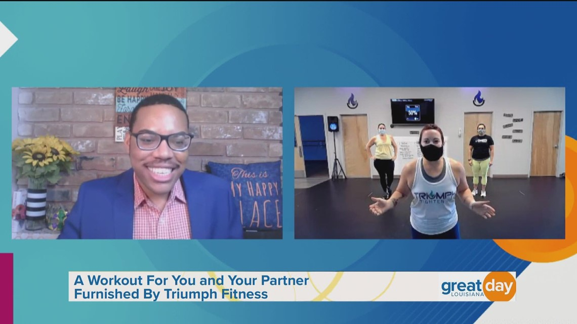 Partner Workouts with Triumph Fitness