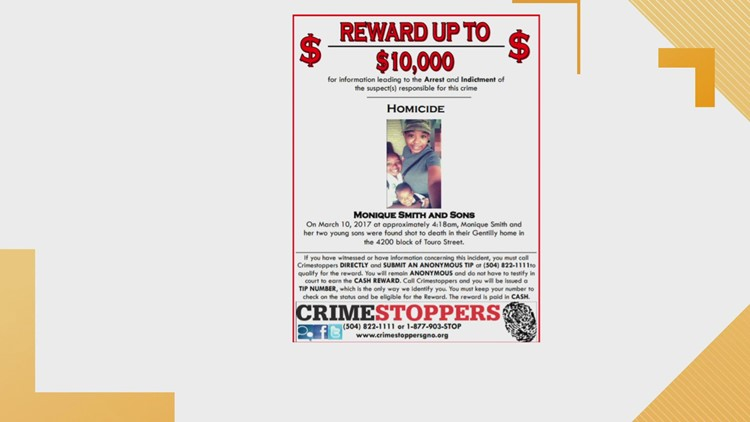 Crimestoppers update on open cases
