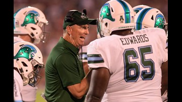Tulane routs UConn 49-7