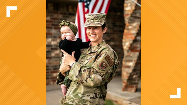 Airman gives her breast milk to Louisiana baby after Hurricane Ida