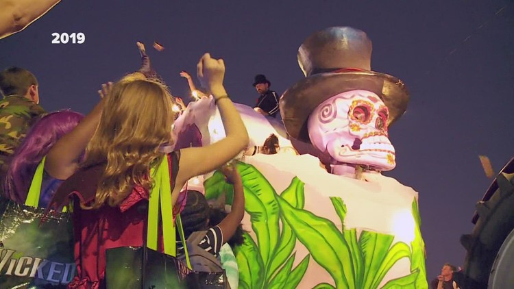 Krewe of Boo surveys will determine level of COVID spread at parade