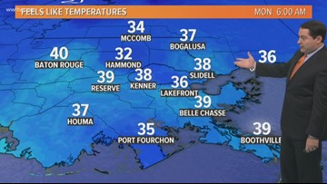 Pinpoint Forecast: Staying Chilly Monday and tonight