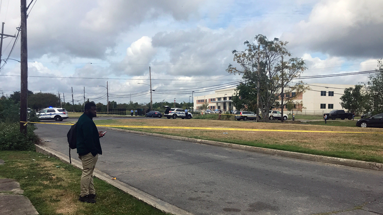Young person shot outside George Washington Carver High School