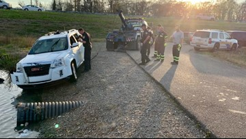 Stolen car pulled from Spillway area, sheriff's office says