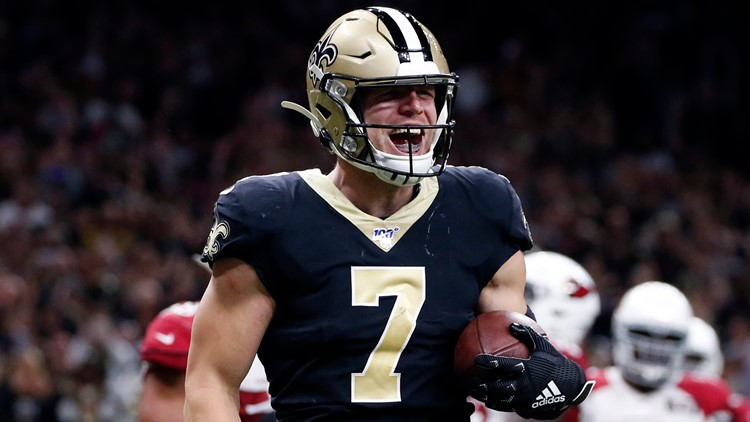 Espn Taysom Hill Will Start For Hurt Drew Brees Against Falcons Wwltv Com