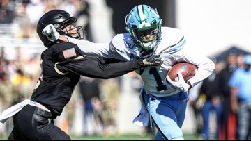 Tulane outpaces Army 42-33 in West Point, improves to 4-1